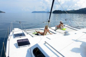 Burma snorkeling and sailing