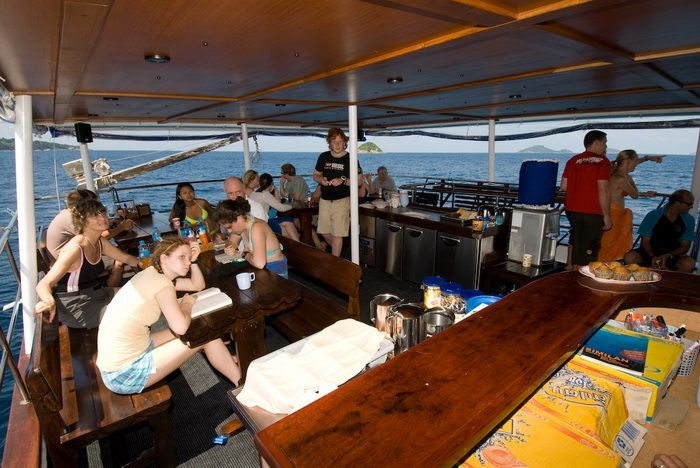 Deep Andaman Queen main deck