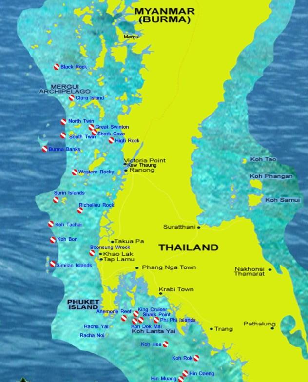 Deep Andaman Queen route map