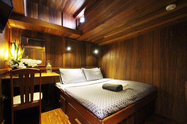 Diva Andaman double bed cabin