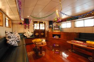 Deep Andaman Queen saloon