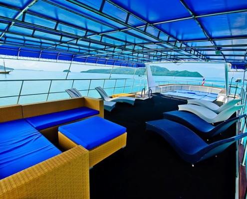 Deep Andaman Queen top deck