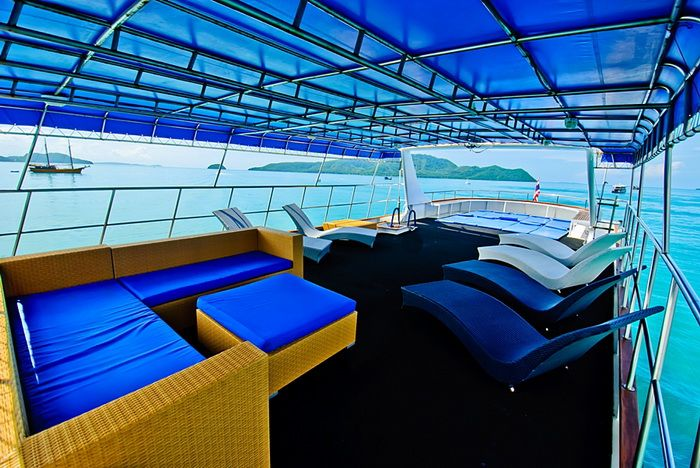 Deep Andaman Queen top deck
