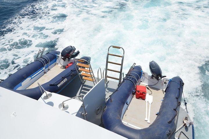 DiveRACE E Class tenders