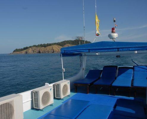 Dolphin Queen sun deck