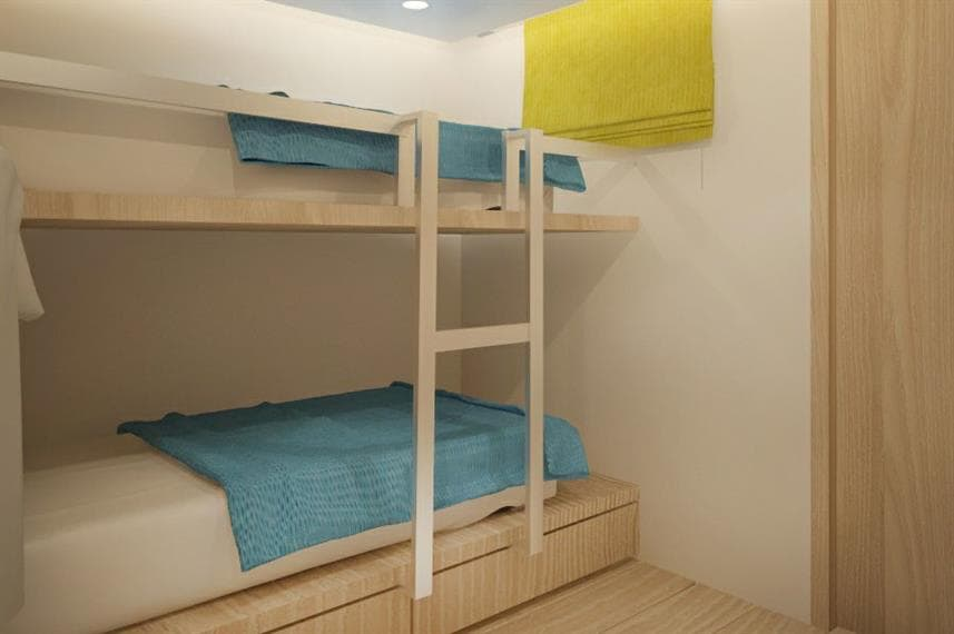 Deep Andaman Queen II - deluxe twin bunk cabin