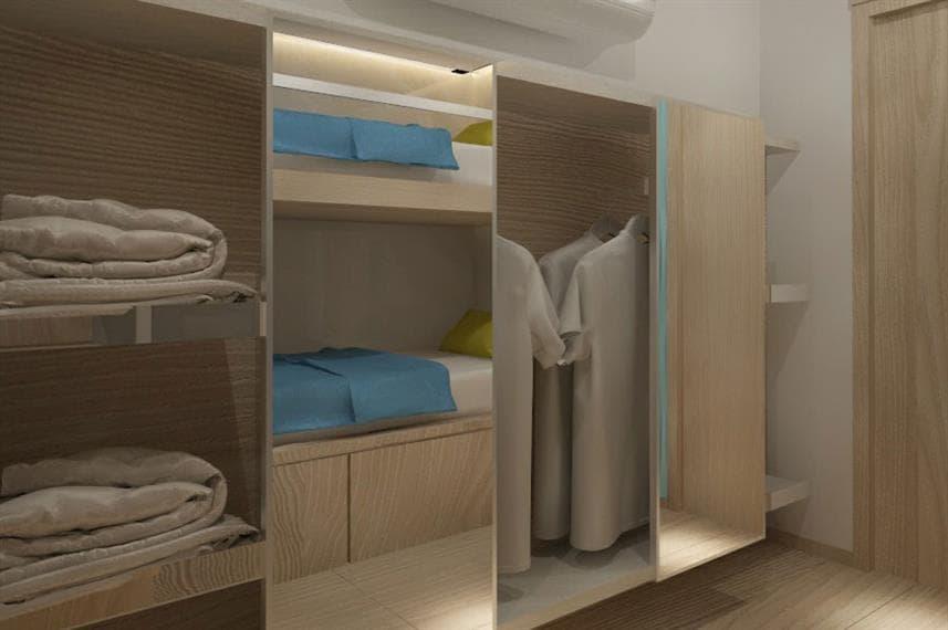 Deep Andaman Queen II - deluxe twin cabin