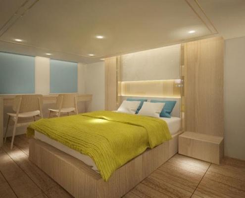 Deep Andaman Queen II - master cabin