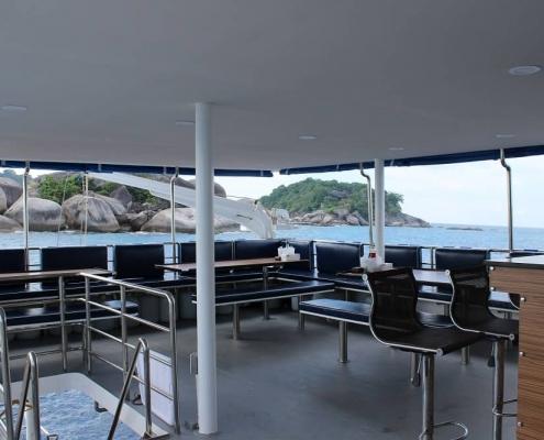 Bavaria dinner deck