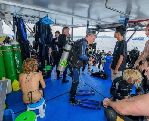 Bavaria dive deck