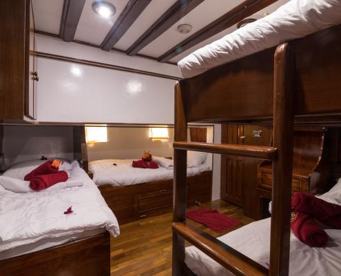Phinisi cabin 6 quad